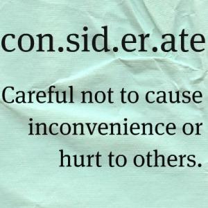 ethos considerate