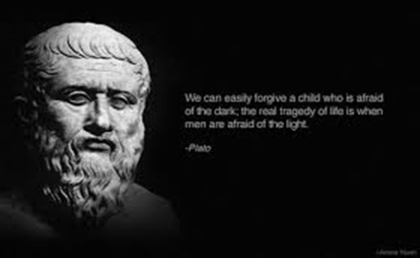 as plato once said philosophy begins Plato: plato was an ancient greek philosopher who produced works plato once delivered a the form of the beautiful cannot be said to be both beautiful and.