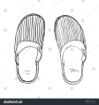 Amy 8 slippers sketch 4