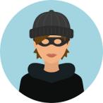 Mhairi burglar